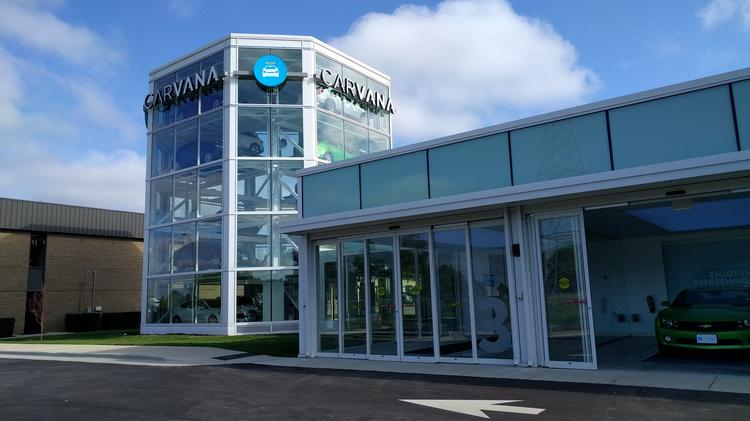 are carvana 39 s vending machines disrupting auto dealerships triangle business journal. Black Bedroom Furniture Sets. Home Design Ideas