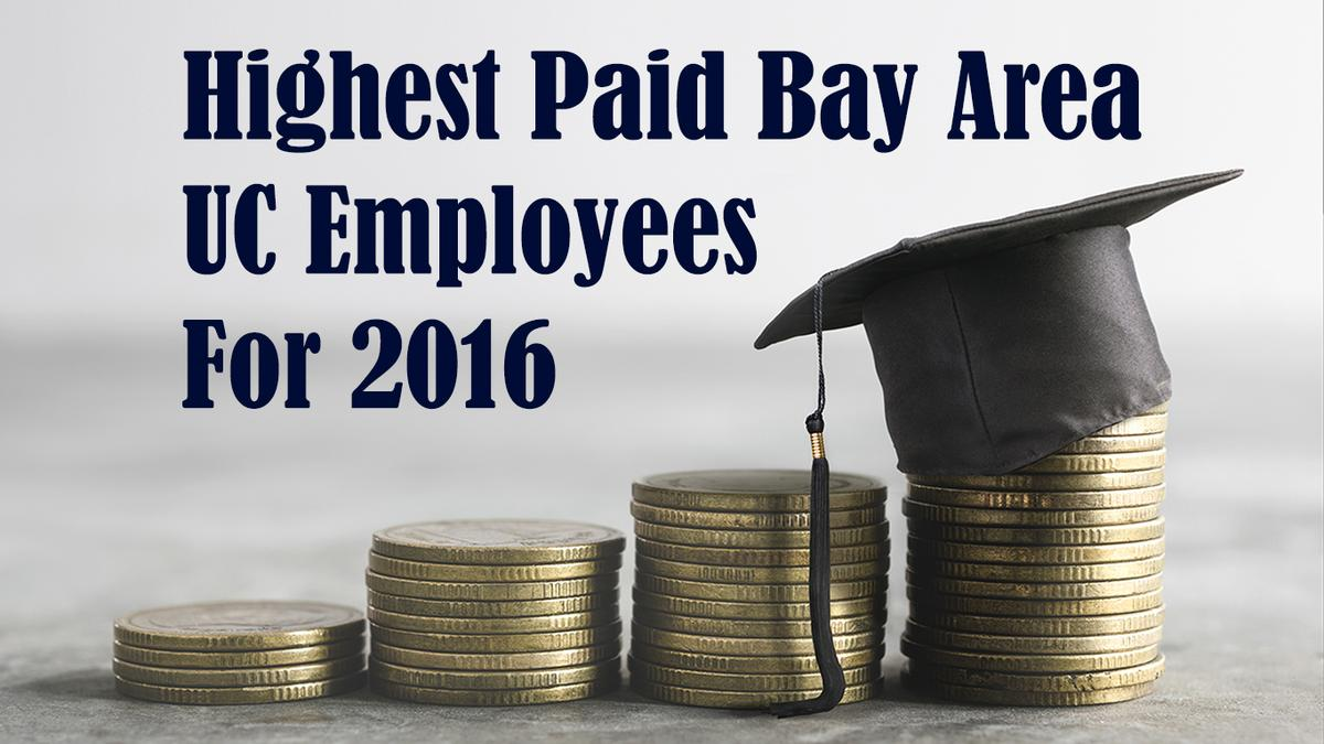 The 15 highest-paid Bay Area UC employees for 2016 include Daniel
