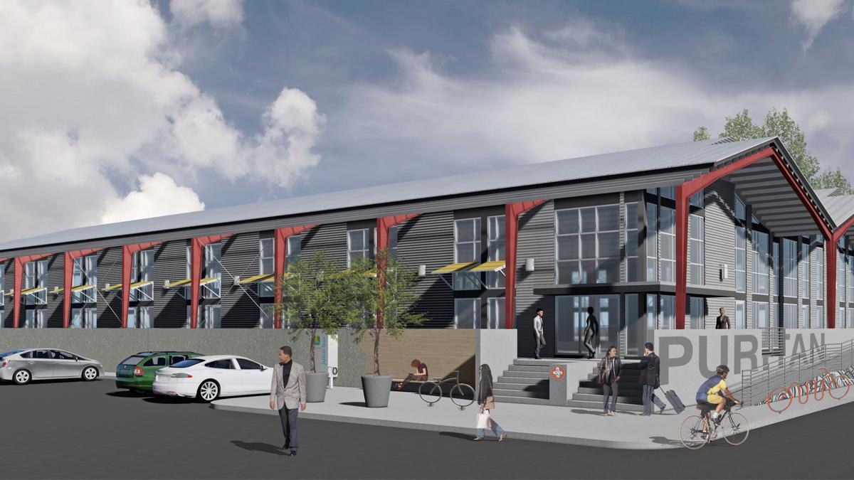 Puritan Mill Owners Planning Loft Office Project Atlanta