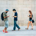 Texting trouble: Thousands injured by walking into walls