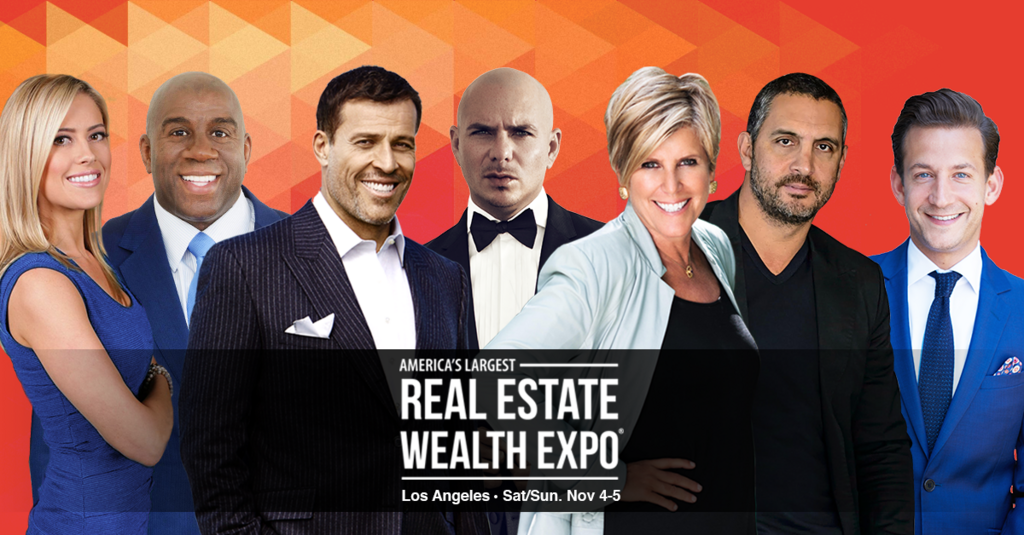 Real Estate Wealth Expo Featuring Tony Robbins and Special Performance by Pitbull