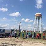 Valero distributes free gasoline to communities hit by Harvey