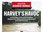 Houston Business Journal's Harvey coverage
