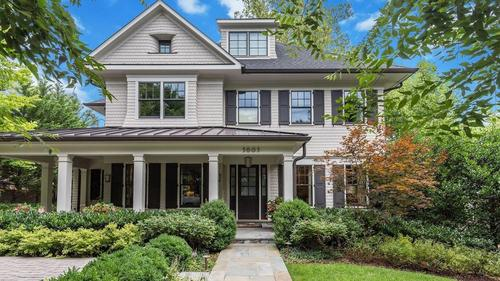 Stunning Customized Home in Chevy Chase
