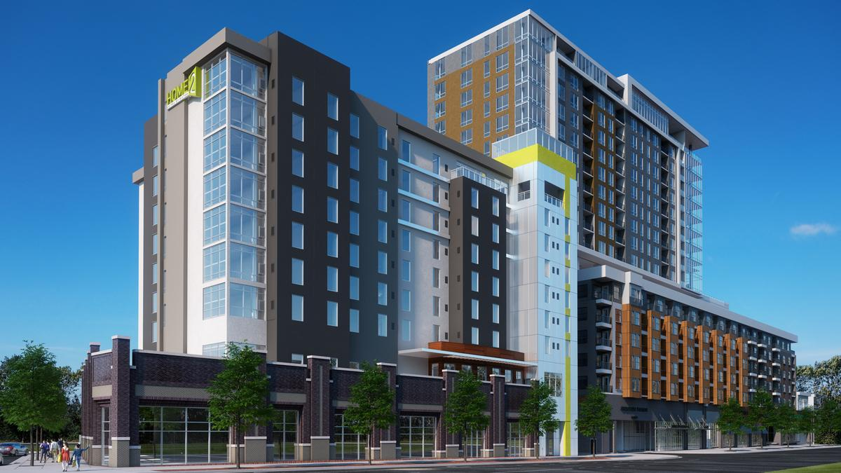Home2 Suites Under Construction At Crescent Stonewall
