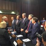 Hickenlooper pushes reinsurance pool, insurance tax breaks to U.S. Senate committee