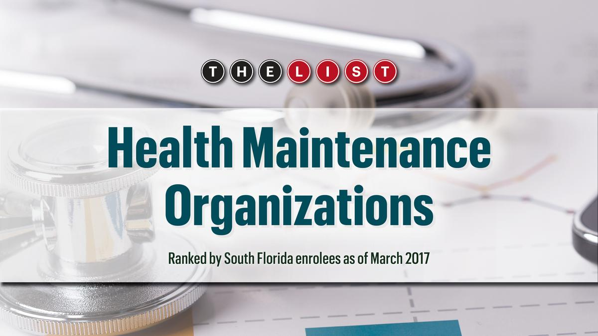 The List: South Florida's Top Health Maintenance ...