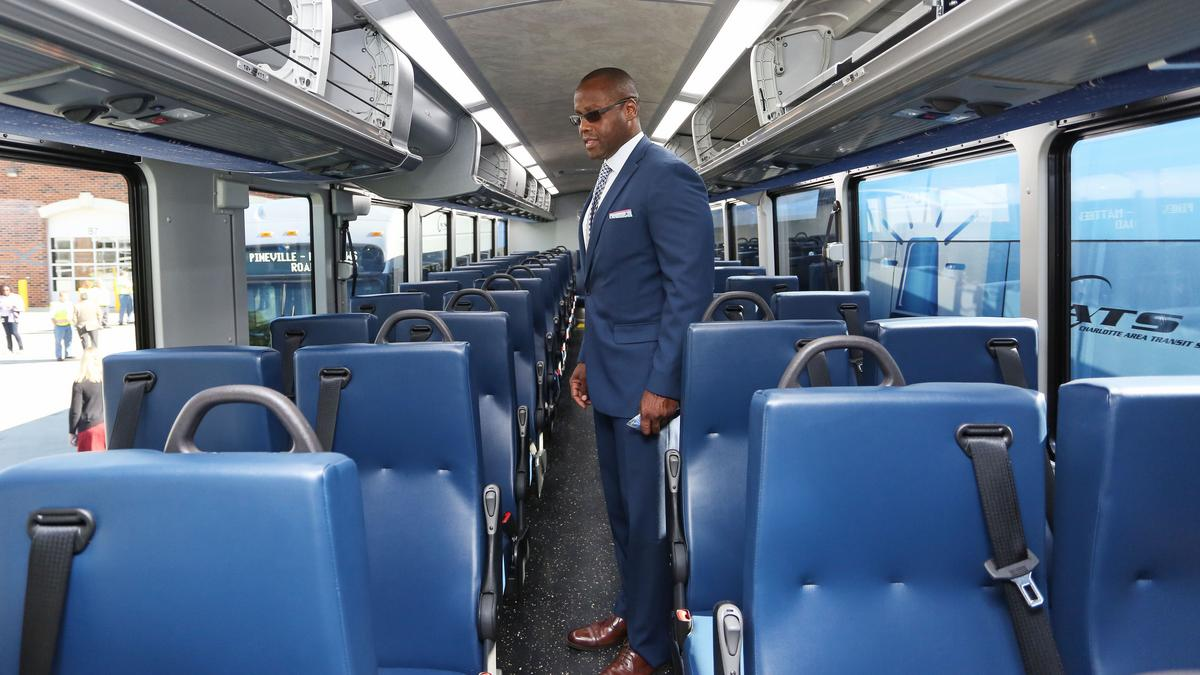 Charlotte Area Transit System Debuts New Look For Buses
