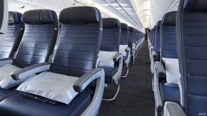 United Airlines is installing unusually roomy new economy cabin seating in retrofitted Boeing 767 aircraft.