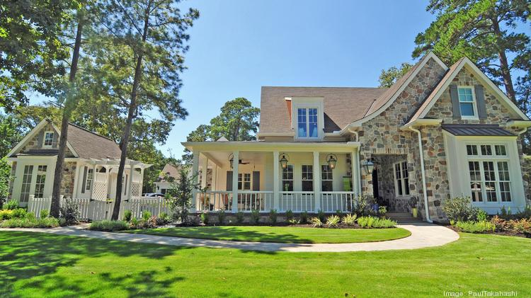 Southern living showcase home unveiled at tiger woods for Southern living builders
