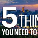 Five things you need to know today, and I asked for it