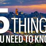 Five things you need to know today, and Cincinnati is the center of the universe