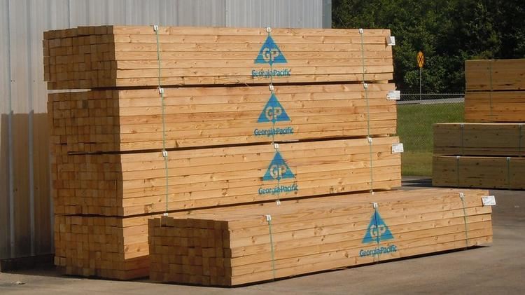 georgia pacific to build 135 million lumber mill west of augusta