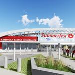 Summerfest unveils plans for a new north gate entrance, music park