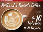 Portland's favorite coffee: The 10 best places for business meetings