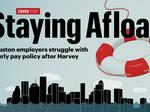 Houston employers struggle with hourly pay policy after Harvey