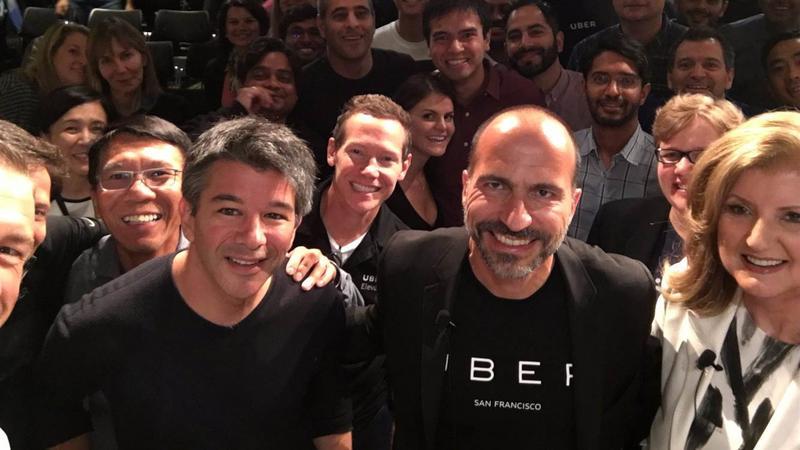 Uber and Kalanick and Khosrowhahi