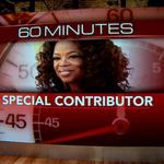 <strong>Oprah</strong>'s first '60 Minutes' report set