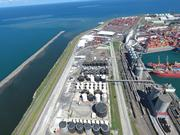 Aerial view of the Port of Veracruz where Koch Supply & Trading exported its first shipment of diesel to Mexico.