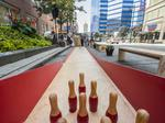 Park(ing) Day turns downtown spaces into bean bag courts, bowling alley: Slideshow