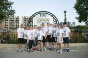 There were many corporate teams that participated in the event.