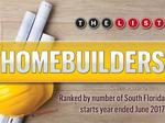 The List: South Florida's Top Homebuilders