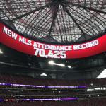 Record-setting weekend for Mercedes-Benz Stadium (Video)