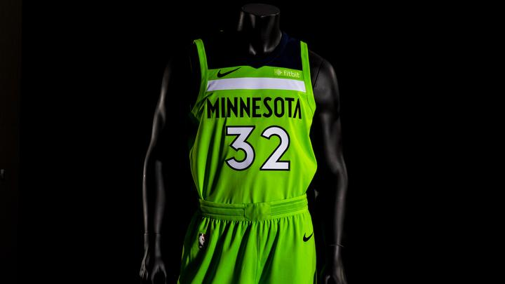 Timberwolves Unveil Neon Green Statement Jersey Minneapolis