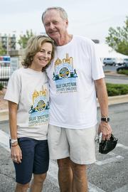 Pam Kassner of Super Pear Strategies LLC and Gary Grunau of Schlitz Park