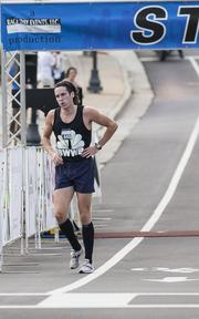 Jason Smith of U.S. Bank took first place in the race.