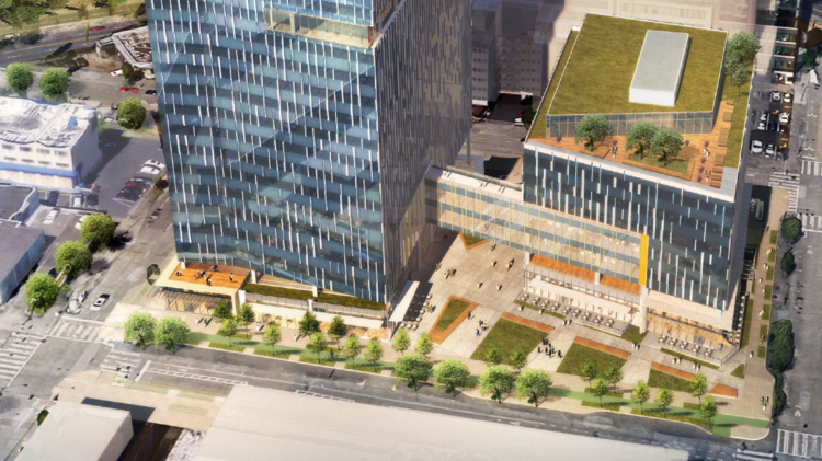 Amazon moves forward with construction of fourth HQ block