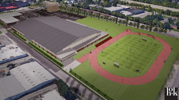 $30 million track and field facility to be developed in West End