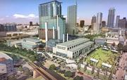 """This is what Austin's doing to that old Seaholm power plant. Yes, anti-growth advocates, I know it's a lot of """"stuff."""" But it'll all be centered around things Austinites cherish, such as public spaces and a Trader Joe's."""