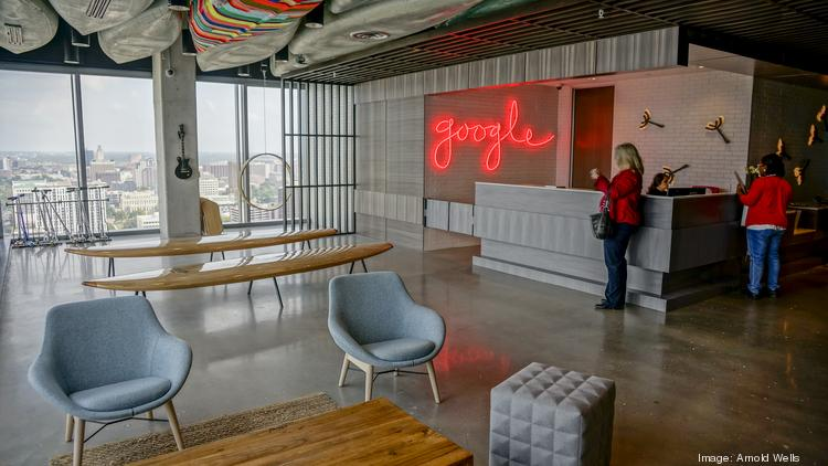 Inside Google S Cool New Austin Office Dog Park In The