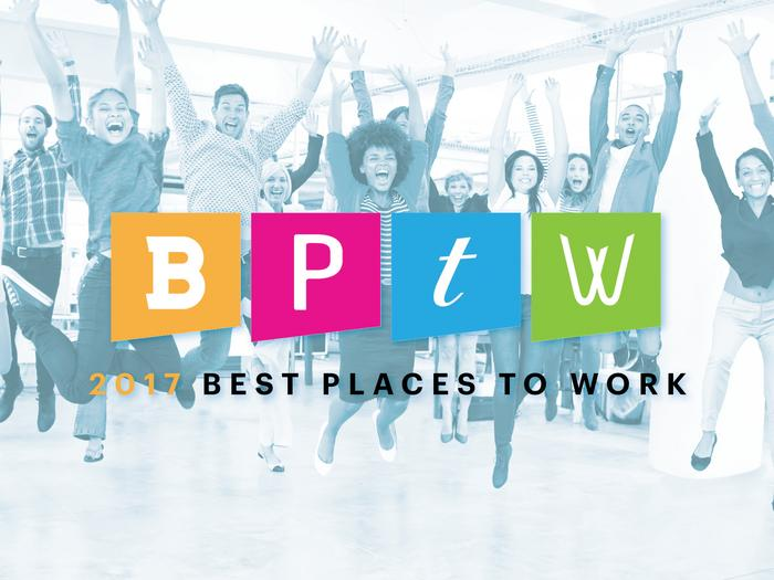 2017 Best Places to Work honorees named