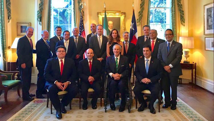 Mexico's growing fuels market was a topic of discussion during a Monday afternoon meeting hosted by Texas Gov. Greg Abbott in Austin. Among those attending the meeting were Mexican Ambassador to the United States Geronimo Gutierrez-Fernandez, Texas Secretary of State Rolando Pablos, Pemex CEO Jose Antonio Gonzalez-Anaya, Valero CEO Joe Gorder, Howard Energy CEO Mike Howard, NuStar Energy CEO Brad Barron, Energy Transfer Partners CEO Kelcy Warren and Parsley Energy CEO Bryan Sheffield.