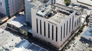 Downtown mall with development potential listed for sale in Miami