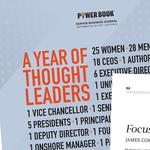 Best of the DBJ 2017: Power Book -- A Year of Thought Leaders