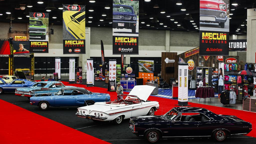 Mecum Auction is at the Kentucky Expo Center Sept. 21-23 ...