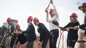 Slideshow: Sir Richard Branson holds court at Virgin Hotel groundbreaking in Nashville