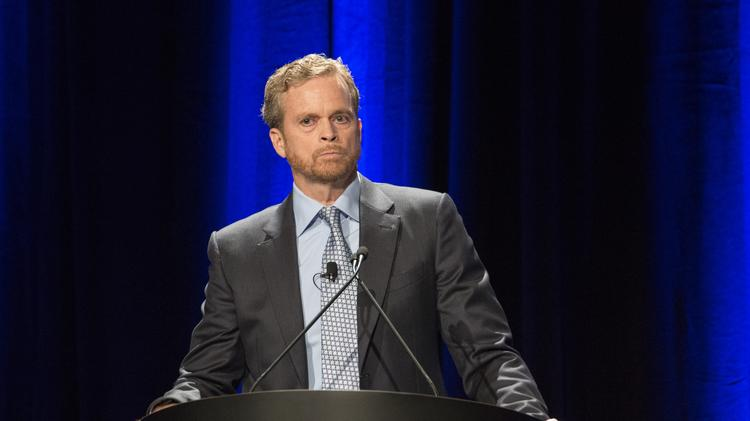 f809e0382 Nike CEO Mark Parker urged investors to have confidence in the company s  new consumer direct offense