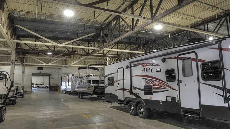 Rv storage depot leases more than 200 000 square feet at for Rv square footage