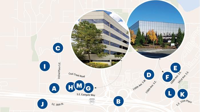 Eastgate is the Eastside's new hot office market