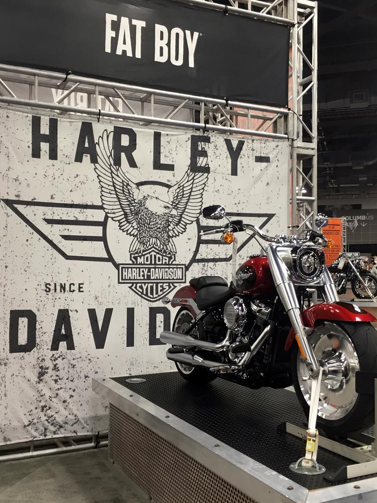 Ricart buying A D  Farrow, Central Ohio's oldest Harley