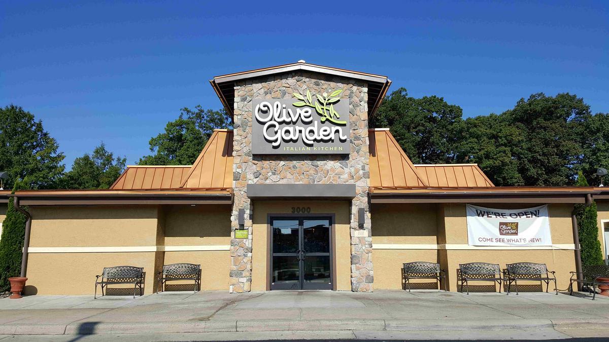 Triad Olive Garden Restaurants Get Makeovers   Greensboro   Triad Business  Journal