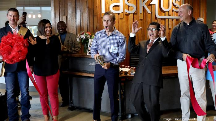 TaskUs unveils 'ultimate millennial office space' office space (slideshow)