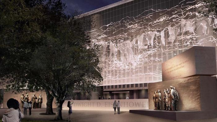 With a tapestry of Normandy, Eisenhower Memorial may finally be added to D.C. landscape