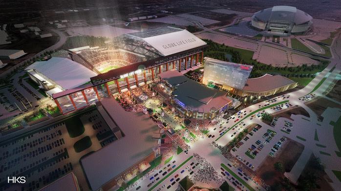 Texas Rangers' $1.1B ballpark helping push national spending on sports venue construction