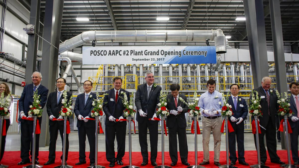 Posco Opens Facility In Jeffersonville Louisville
