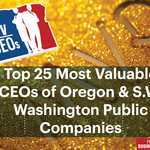 Oregon & S.W. Washington's 25 most-valuable public company CEOs